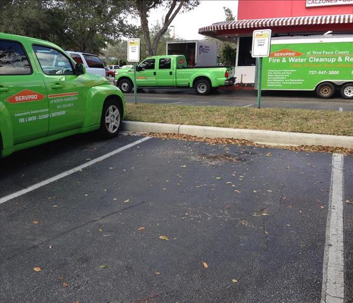 SERVPRO saves local business from fire damage