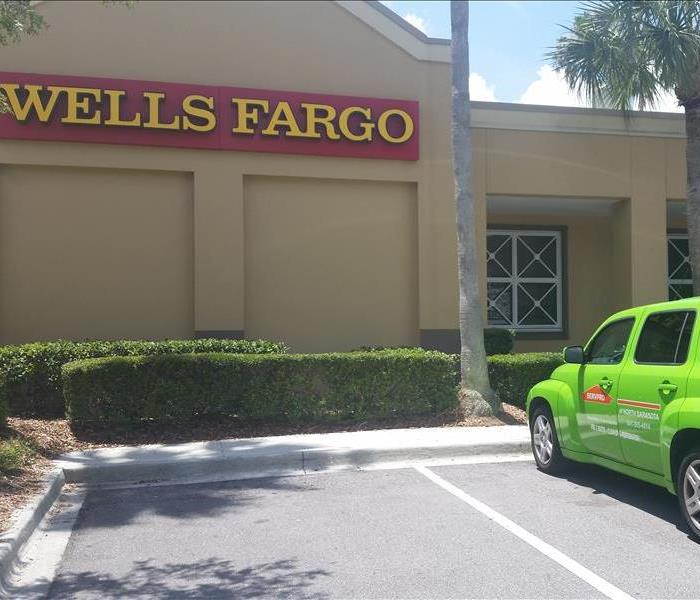 SERVPRO of North Sarasota at Wells Fargo on University