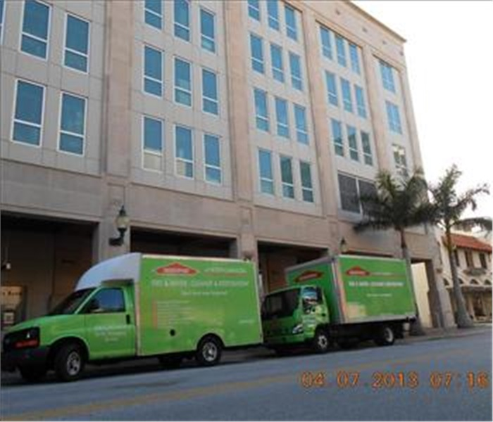 SERVPRO of North Sarasota at work Downtown
