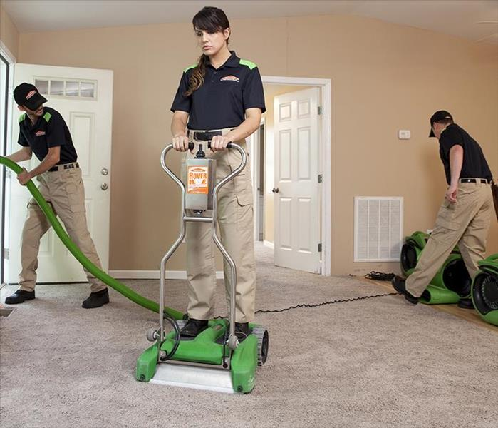 Commercial Building Cleaning Services Servpro Of North